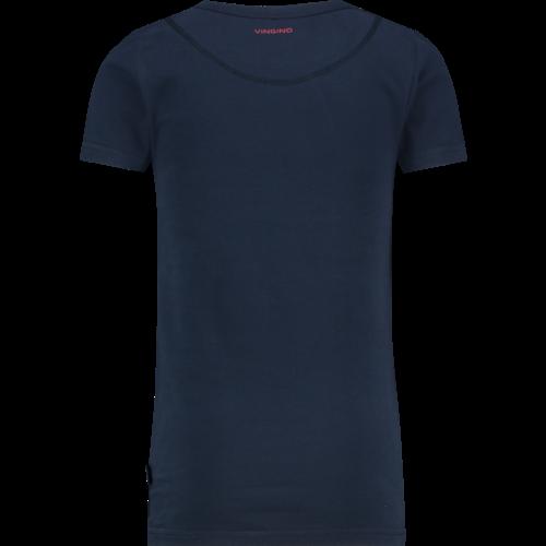 VINGINO Vingino jongens t-shirt dark blue nos