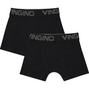 VINGINO jongens 2-pack onderbroeken black nos
