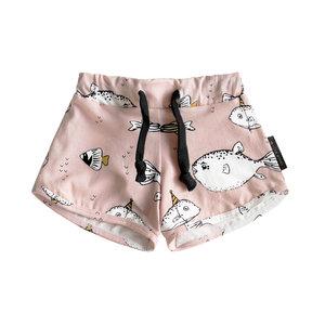 YOUR WISHES meisjes korte broek deep sea pink