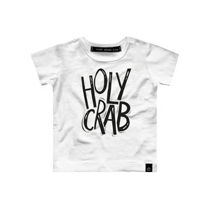 YOUR WISHES t-shirt holy crab white nos