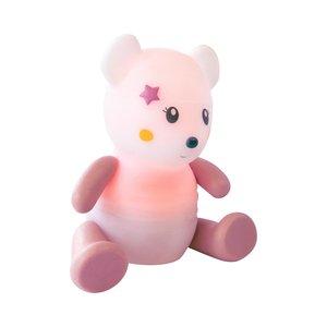 Pabobo lumilove nachtlamp rainbow mouse pink