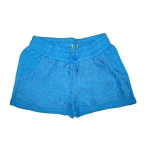 LEMON BERET meisjes korte broek blue aster