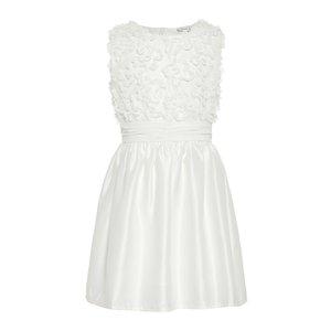 NAME IT meisjes jurk bright white
