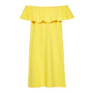 NAME IT meisjes jurk primrose yellow
