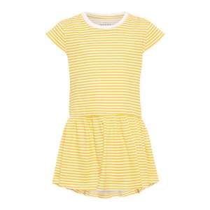 167ca0c3aaf0cc NAME IT meisjes jurk bright white stripe