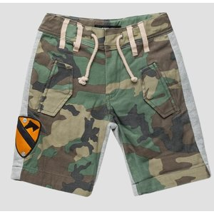 REPLAY jongens korte broek army