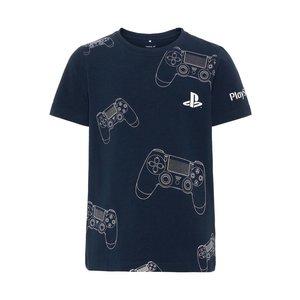 NAME IT jongens t-shirt dark sapphire playstation