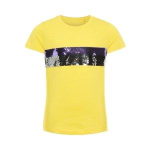 NAME IT meisjes t-shirt primrose yellow
