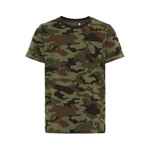 NAME IT jongens t-shirt deep depths camo