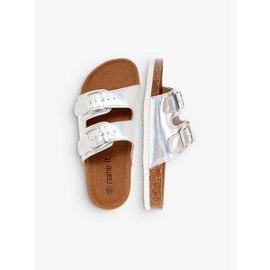NAME IT meisjes sandalen silver