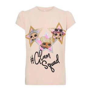 NAME IT meisjes t-shirt strawberry cream L.O.L. suprise