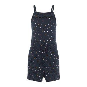 NAME IT meisjes jumpsuit dark sapphire dots
