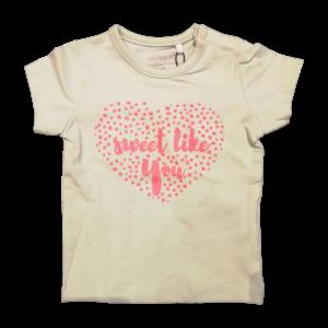 NAME IT meisjes t-shirt dusty aqua