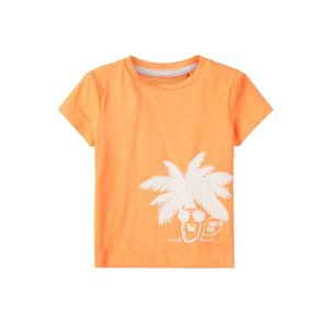 NAME IT jongens t-shirt orange pop