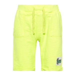 NAME IT jongens korte broek safety yellow