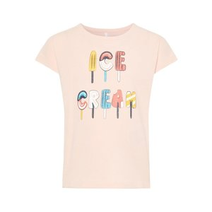 NAME IT meisjes t-shirt strawberry cream