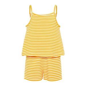 NAME IT meisjes jumpsuit cadmium yellow