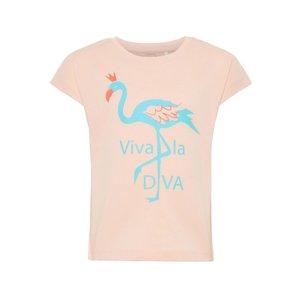 NAME IT meisjes t-shirts strawberry cream