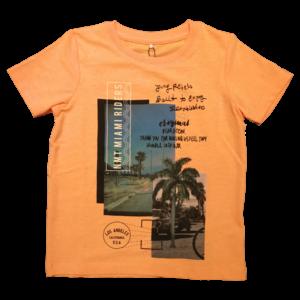 NAME IT jongens t-shirt orange pop