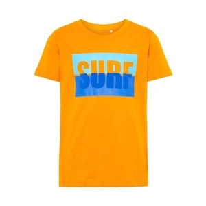 NAME IT jongens t-shirts flame orange