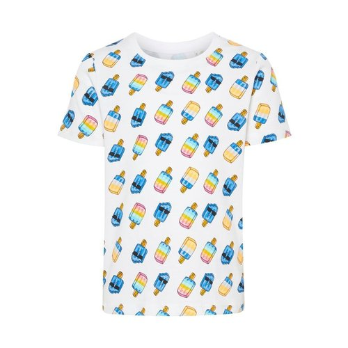 NAME IT Name it jongens t-shirts bright white