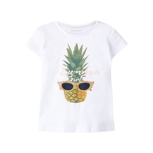 NAME IT meisjes t-shirts bright white