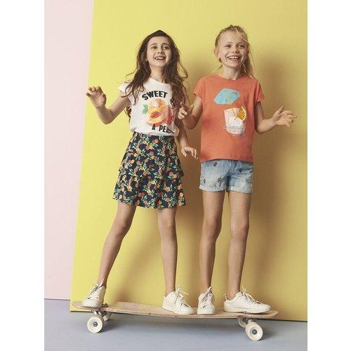 NAME IT Name it meisjes t-shirts emberglow