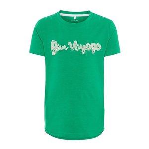 NAME IT meisjes t-shirts jolly green
