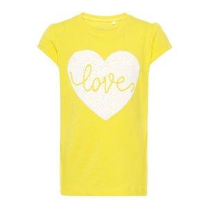 NAME IT meisjes t-shirts primrose yellow