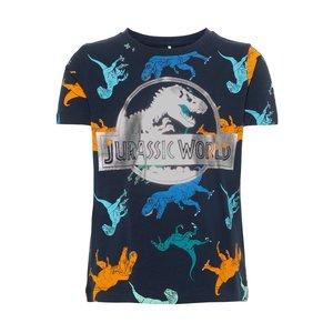 NAME IT jongens t-shirts dark sapphire jurassic world