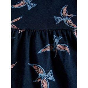 NAME IT Name it meisjes jurk dark sapphire aop birds