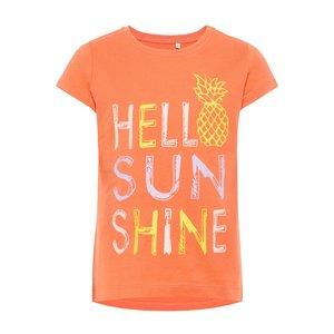 NAME IT meisjes t-shirts emberglow