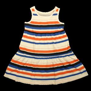 NAME IT meisjes jurk bright white aop stripes