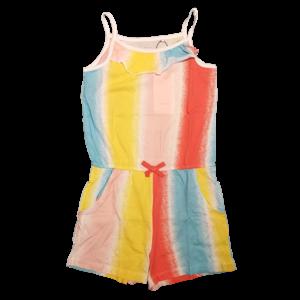 NAME IT meisjes jumpsuit bright white aop stripes