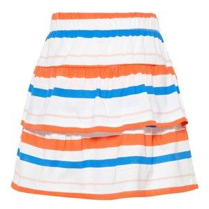 NAME IT Name it meisjes rok bright white aop stripes