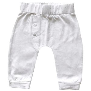 BORN TO BE FAMOUS unisex broek white nos