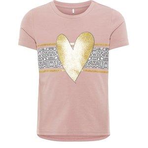 NAME IT meisjes t-shirt woodrose