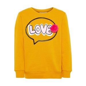 NAME IT Name It meisjes trui golden orange