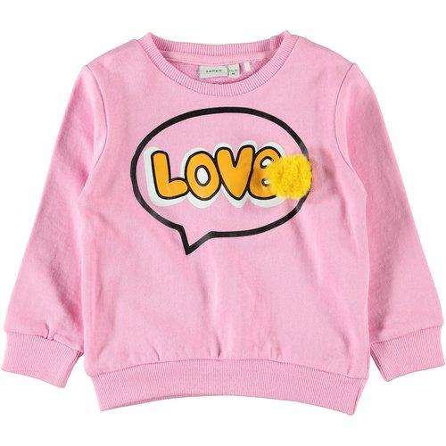 NAME IT Name It meisjes trui prism pink