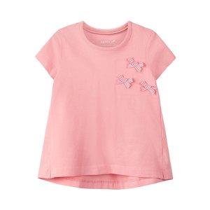 NAME IT meisjes t-shirt flamingo pink