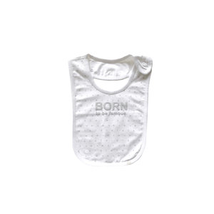 BORN TO BE FAMOUS unisex slab white aop nos