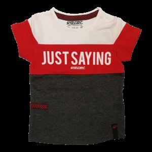 4PRESIDENT jongens t-shirt bright red tim