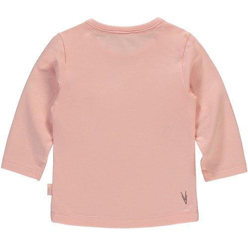 LEVV LEVV meisjes longsleeve dusty pink imke newborn nos