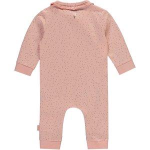 LEVV LEVV meisjes romper dusty pink small dot isabel newborn nos
