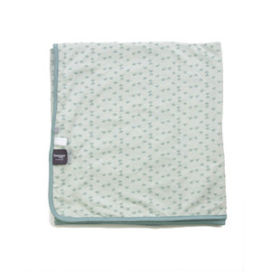 SNOOZEBABY unisex blanket summer cot gray mist 100 x 150 cm