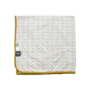 SNOOZEBABY unisex blanket summer crib blumblebee 75 x 100cm