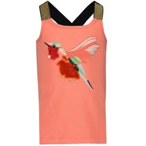 NAME IT meisjes hemd fusion coral