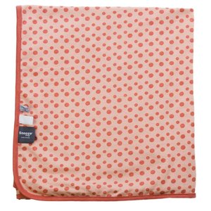 SNOOZEBABY meisjes blanket summer cot dusty rose 100 x 150 cm