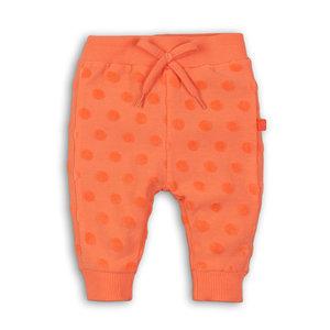 1954d3e3a60078 DIRKJE BABYKLEDING meisjes joggingbroek peach + dots so fresh hugs and  cuddles