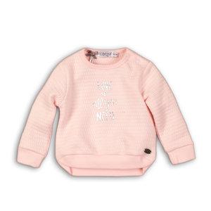 245cbe071edacc DIRKJE BABYKLEDING meisjes trui light pink so soft love